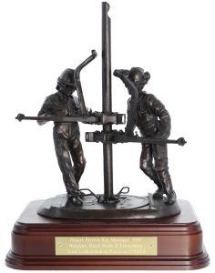 Oil and Gas Rigger Statuette